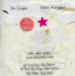 Don Campau - Interim Assignment