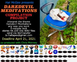 DAREDEVIL MEDITATIONS compilation project