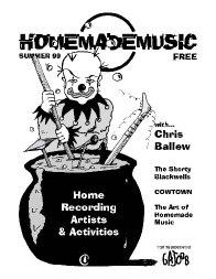 Homemade Music Magazine