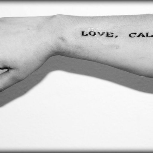 Rachael Johnson (Scott's Daughter) tattoo, 2010